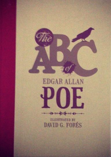 The ABC of Edgar Allan Poe Book Cover