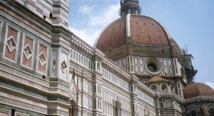 La cúpula de Santa maria del Fiore en Florencia
