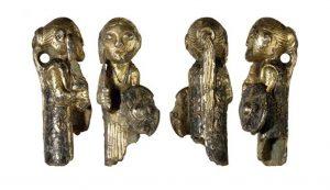 La valkiria de Hårby en el Museo Arqueológico de Alicante