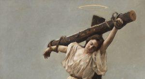 El martirio de santa Eulalia por Gabriel Palencia