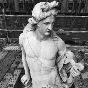 Las estatuas de Neptuno y Apolo