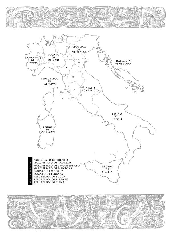 Italia en el siglo XV.