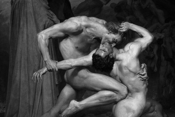 Dante y Virgilio de Bouguereau