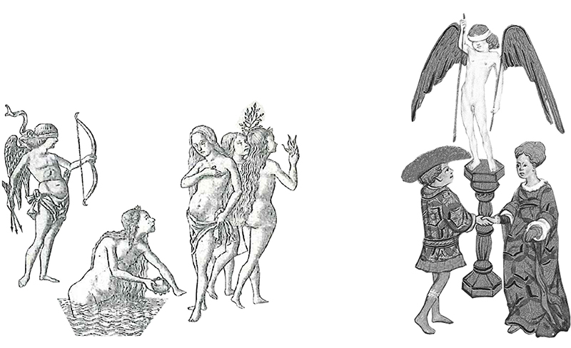 Imágenes de los primeros tarots.