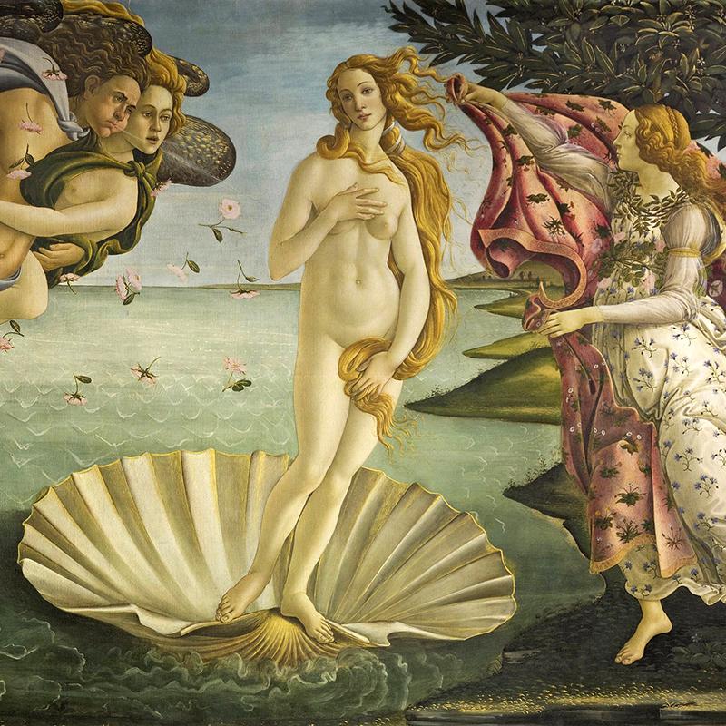 EL nacimiento de Venus (Renacimiento)