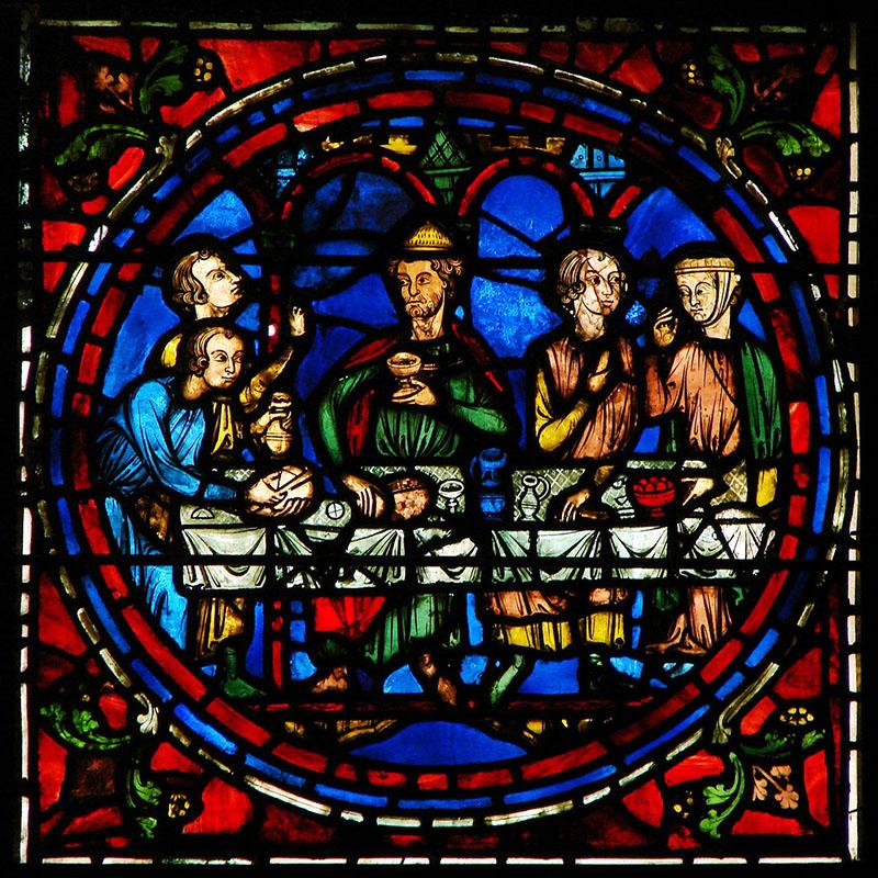 Vidriera de Chartres