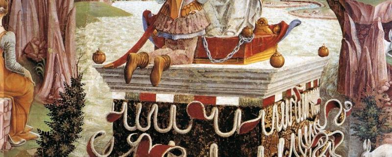Triunfo de Venus en el Palacio Schifanoia