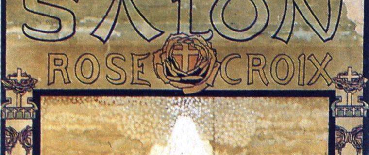 Cartel del primer salón rosacruz